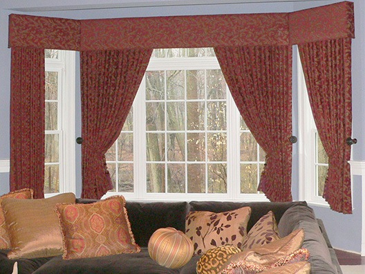 Custom Draperies, Roman Shades & Curtains in Greenwich, Connecticut (CT)