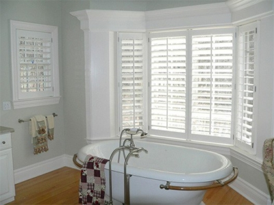 Custom Wood Shutters for Bathrooms in Norwalk, Connecticut (CT) Homes.